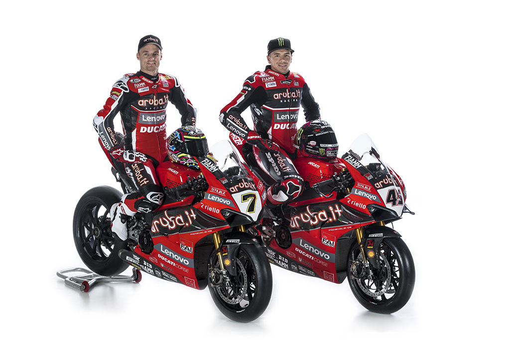 Riello UPS and Aruba.it Racing - Ducati